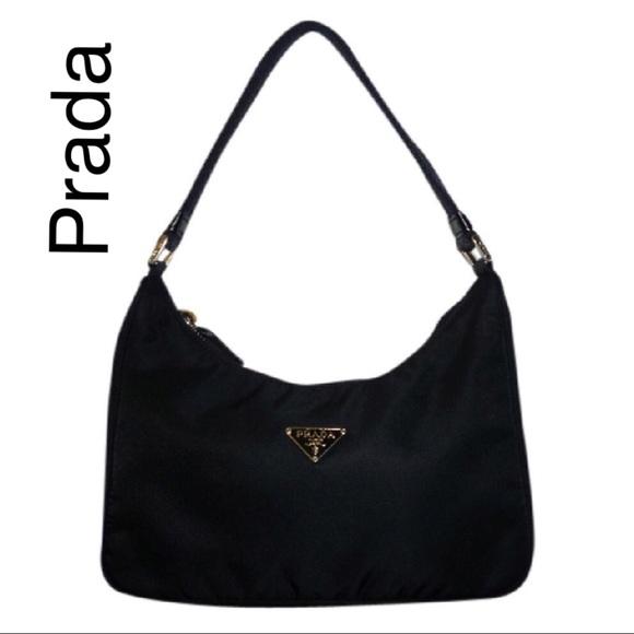 71f219e236fc New Prada tessuto sport nero bag